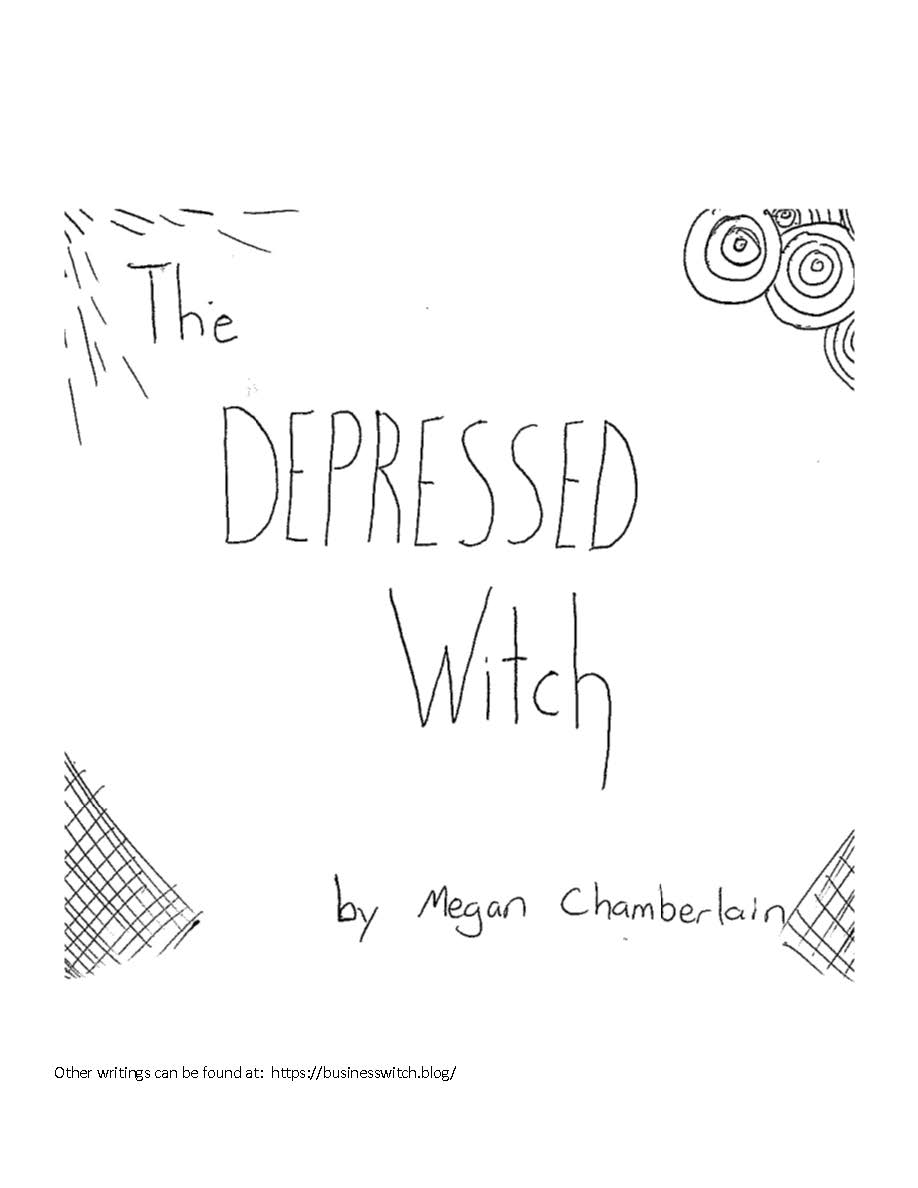 The Depressed Witch, a zine submission – Business Witch